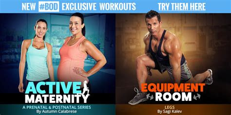 exclusive pregnancy workouts  autumn calabrese