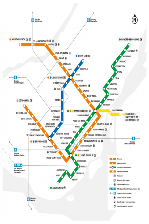Montreal Subway Map Scale.Stm Metro Map Kitchen 2018