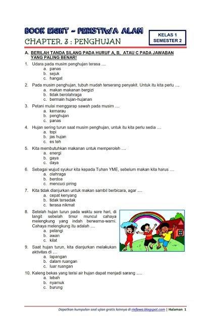 Contoh Soal Dan Jawaban Kurtilas Kelas 1 Semester 1