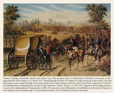 Elizondo captures insurgents at Bajan 1910 postcard.png