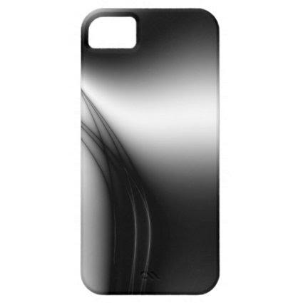 Black and White Estuary iPhone 5 Cases