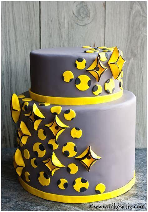 Geometric Abstract Cake   CakeWhiz