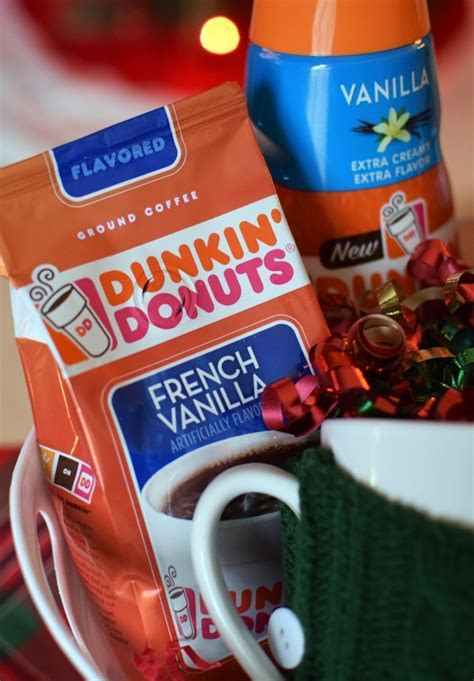 Dunkin Donuts Holiday Gift Basket   Pretty My Party
