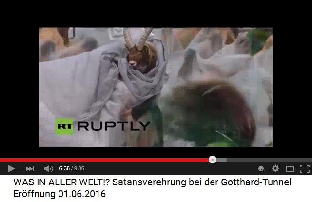 Satanisten am Gotthard-Basistunnel                             04: Der Steinbock umschliesst die Opferfrau