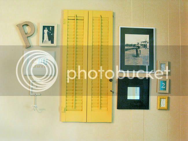shutters,shutter photo,shutters picture holder,oh louise blog,DIY shutters