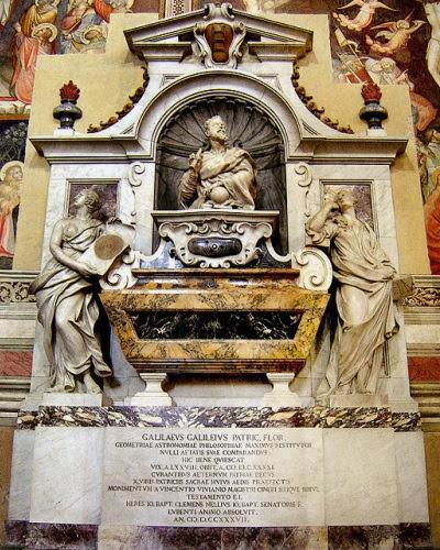 Tomb of Galileo Galilei — Basilica Santa Croce, Florence