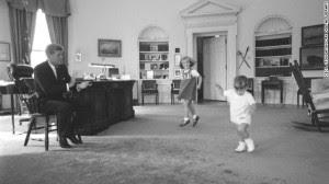 JFK and his children