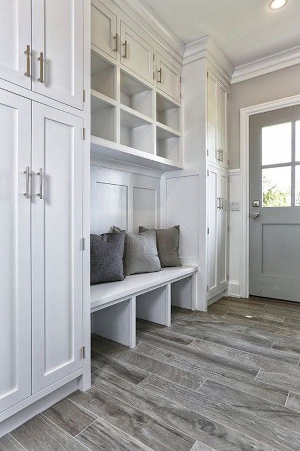 22 Most Popular Mudroom Ideas For Extra Storage   HomeMydesign