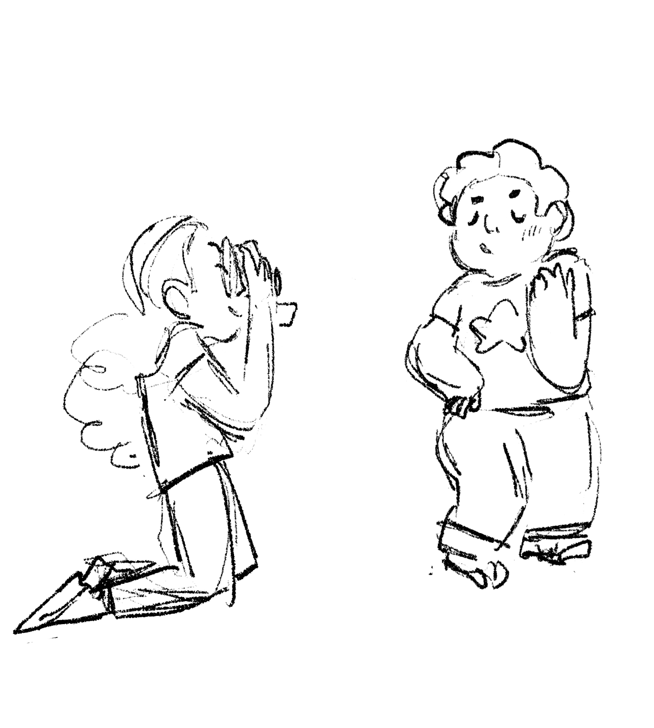 aaa these are so rough and sketchy but i haven't drawn steven and connie in ages and i wanted to draw a polaroid photoshoot that includes the photo steven has in his room and yeah i'm so busy with...