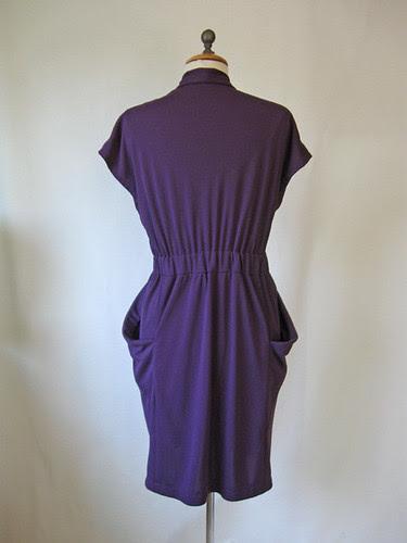 Purple dress back on form