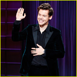 Harry Styles Tells Trump & Clinton Jokes During 'Late Late Show' Monologue - Watch Now!