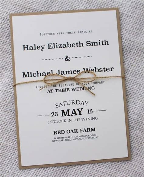 simple wedding invitations best photos   Cute Wedding Ideas