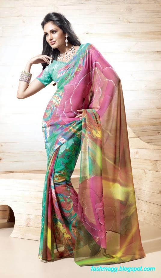 Printed-Saree-Indian-Pakistani-Beautiful-New-Fashionable-Sari-Collection-2013-7
