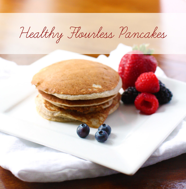 healthy flourless pancakes