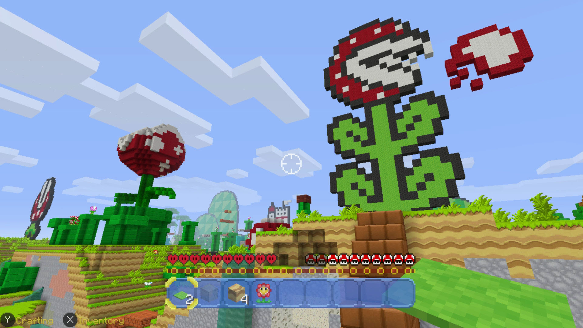 Minecraft for Switch finally gets the ability to run in 1080p when docked screenshot