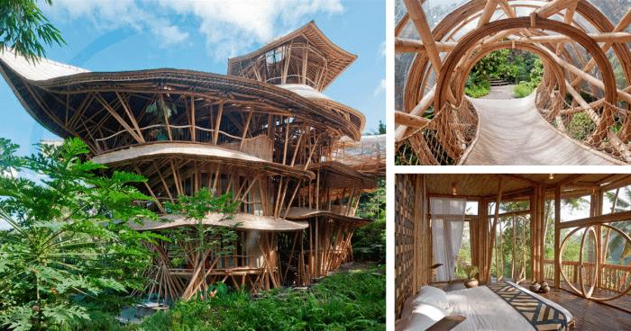 le grand changement construire des maisons en bambou bali. Black Bedroom Furniture Sets. Home Design Ideas