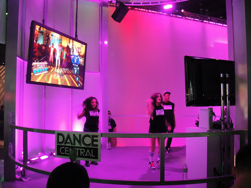 E3 2010 Kinect Dance Central stage
