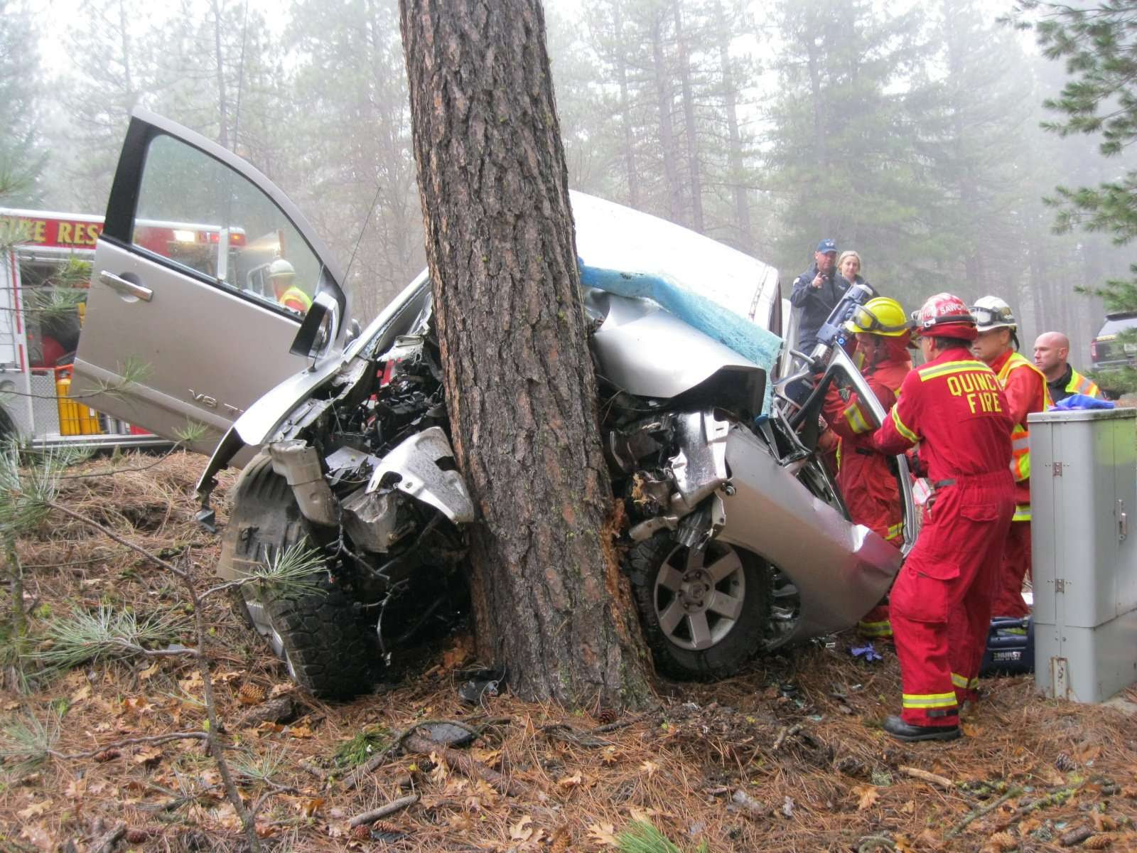 Two killed in single-car accident - Plumas News