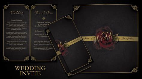 How To Make Simple And Elegant Wedding Invitations In