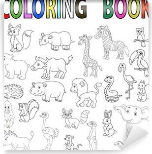 hayvan boyama kitabi gazetesujin