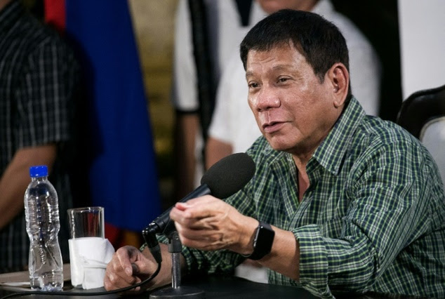 Philippines' president-elect Rodrigo Duterte told reporters on Tuesday there was justification for killing journalists who took bribes or engaged in other corrupt activities ©Manman Dejeto (AFP)