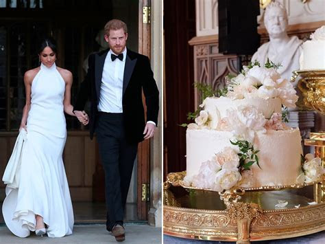 Meghan Markle and Prince Harry   Wedding Cakes   Celebrity