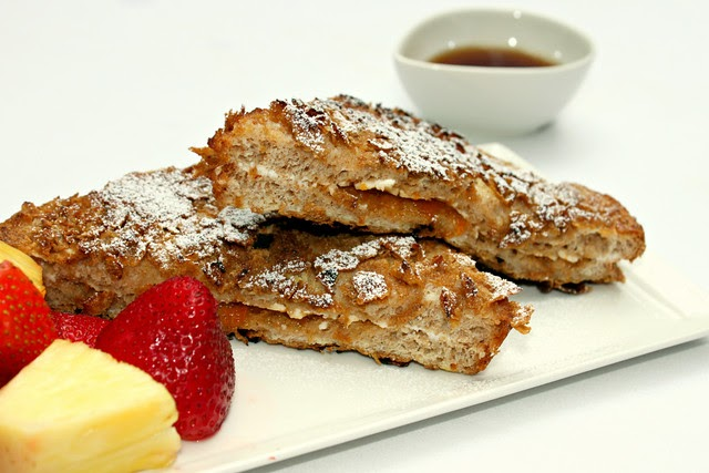 Perfecting the Pairing: Crunchy Stuffed French Toast