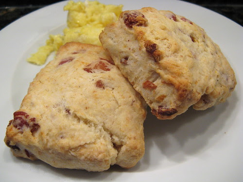 Buttermilk Biscuits with Bacon & Cheddar
