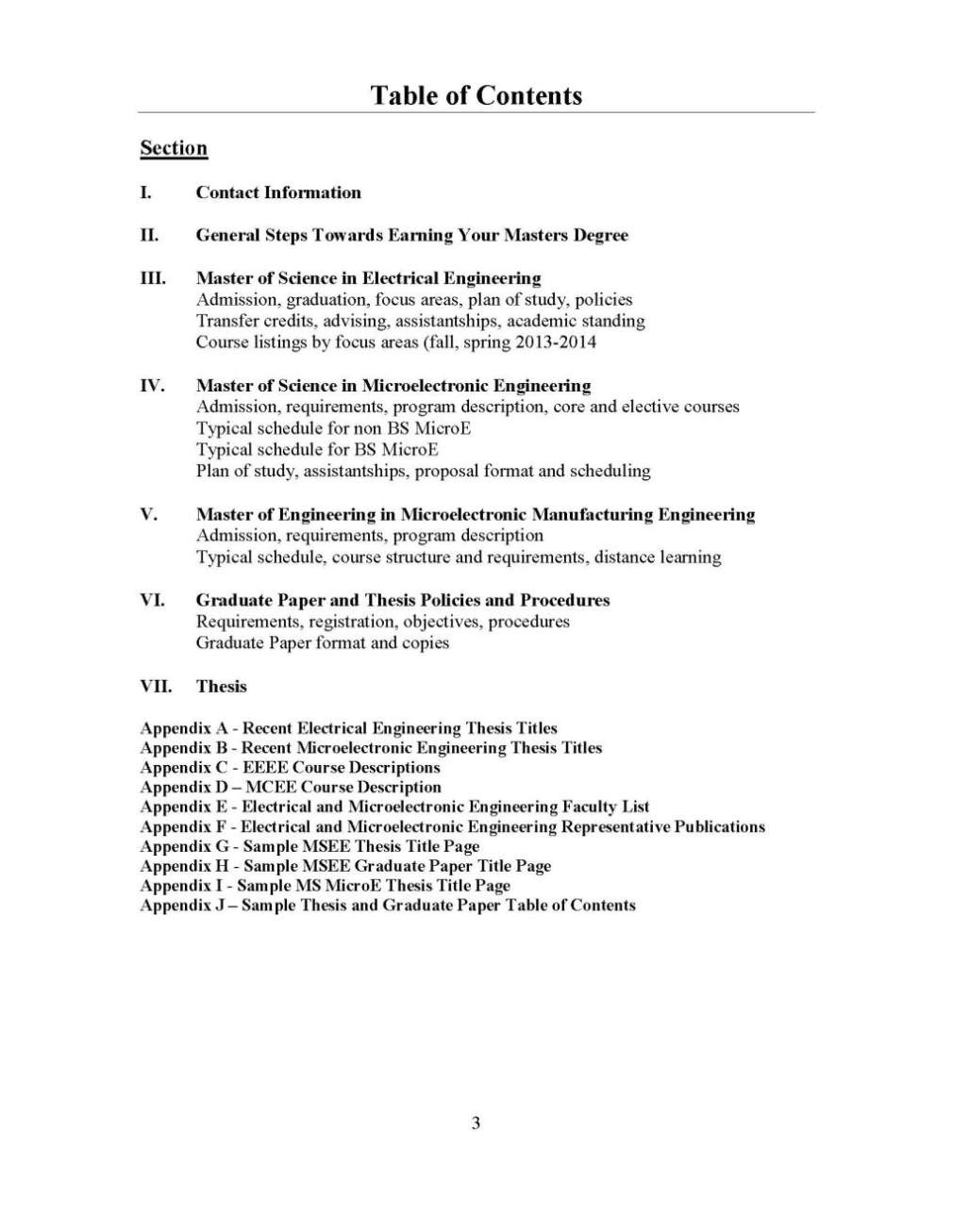 Thesis Topics | List Of PhD & Masters Thesis Topics