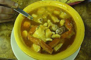 Caldo de mariscos (Mexican seafood soup) from ...