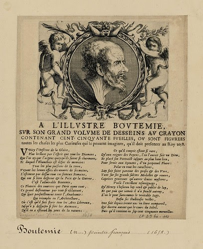 Denis Boutemie, orfèvre - print made by Nicolas Cochin 1658