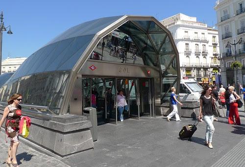 Sol metro, Madrid