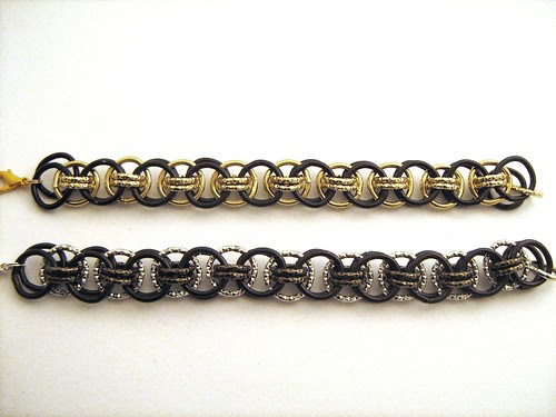 Bracciali in chainmail by Cristina Crijoux
