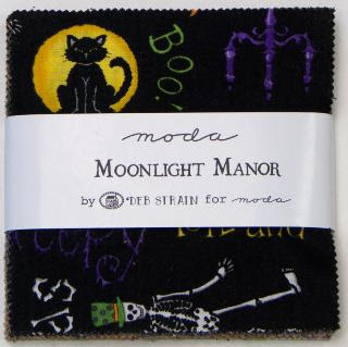 Moda Charm Pack - Moonlight Manor by Deb Strain