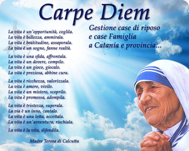 Auguri Matrimonio Madre Teresa : Frasi sulla vita di madre teresa