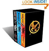 The Hunger Games trilogy book cover
