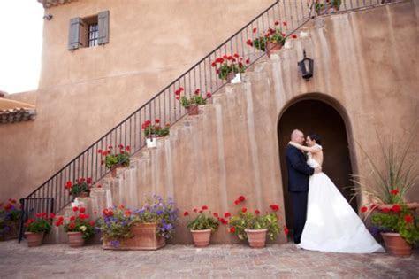Elegant White Hydrangea and Laurels Scottsdale AZ Wedding