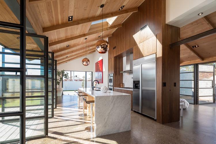 Kitchen in Phoenix Industrial Bungalow