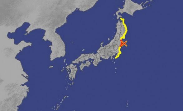 Τεράστιος σεισμός 7,3 Ρίχτερ στην Ιαπωνία - Προειδοποίηση για τσουνάμι