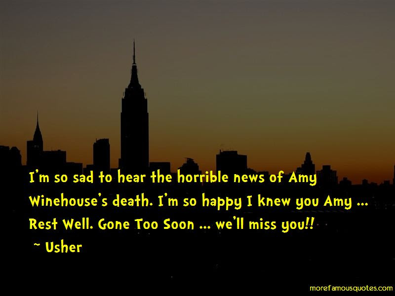 Sad News Death Quotes Top 3 Quotes About Sad News Death From Famous