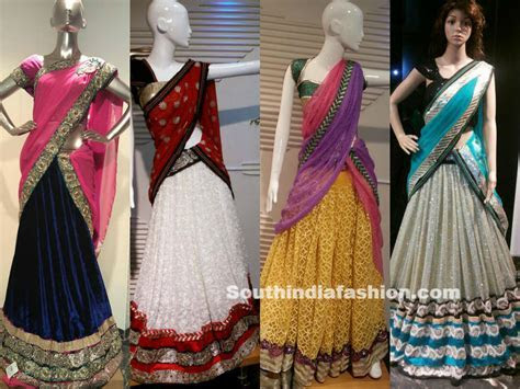 Designer Half Sarees by Kashish, Hyderabad ? South India