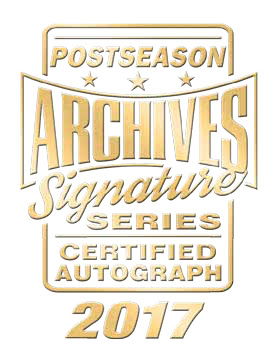 2017 Topps Archives Signature Series Baseball Postseason Edition Logo