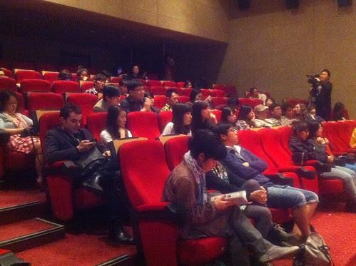 Audiences were attentive