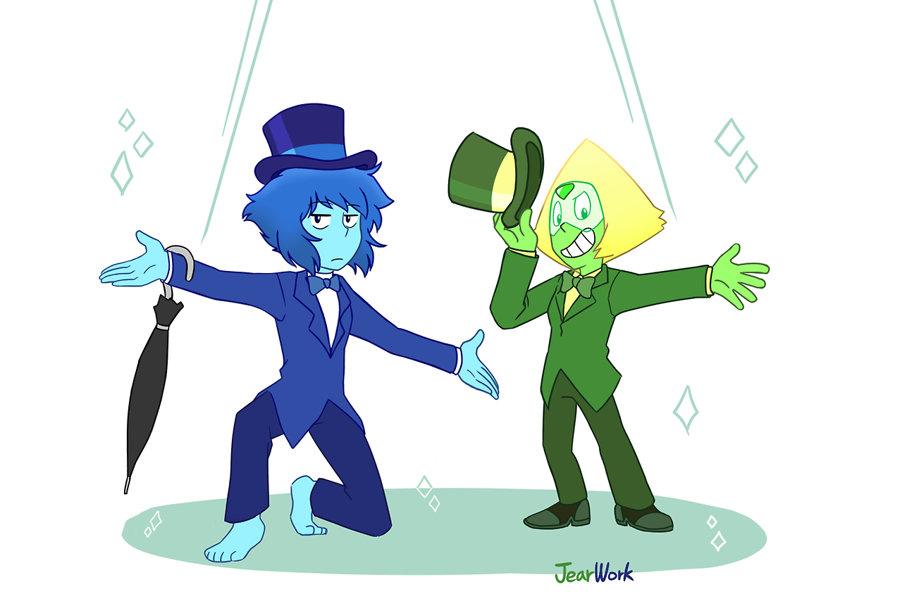 Lapidot Suits A gift for my sis @distractednerd !! Thanks for giving me a chance to draw them wearing suits!! Glad u like it ;)))