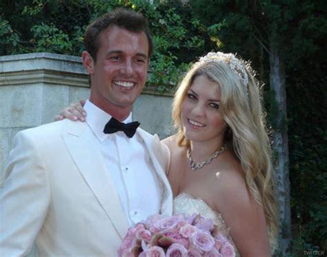 Pandora Vanderpump Todd wedding photo with groom Jason Sabo