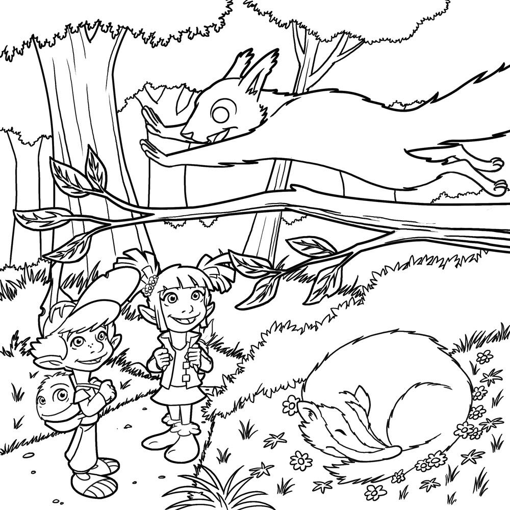 26 Dibujos De Bosques Para Colorear Oh Kids Page 1