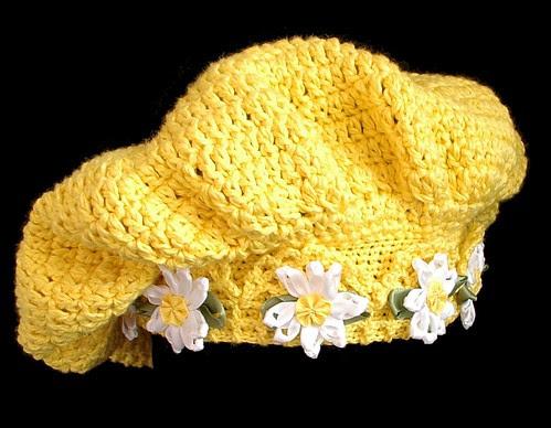 yellow tam 10 daisies