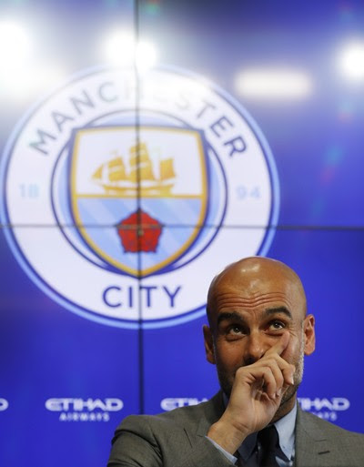 Guardiola Manchester City (Foto: Reuters)