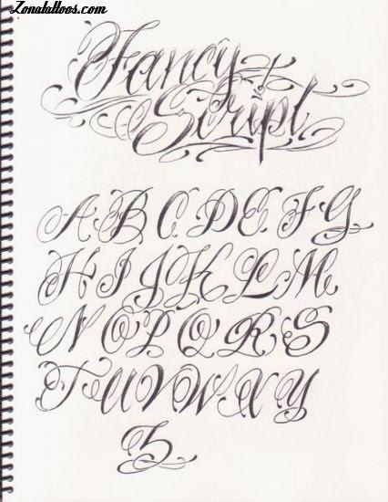 Letras Para Tatuajes Elegantes