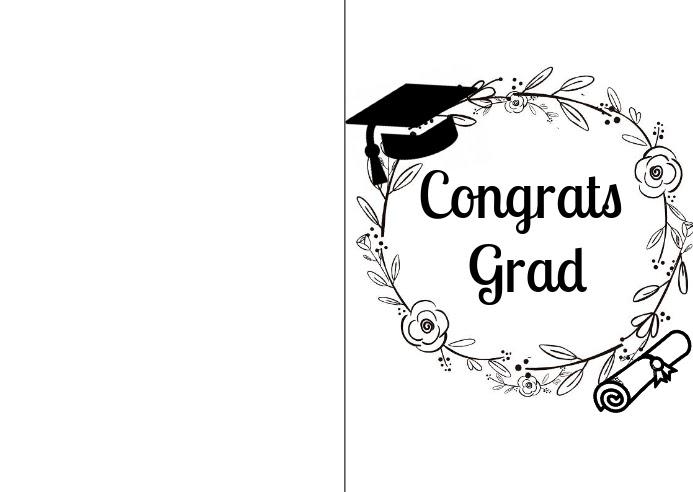Kartu Ucapan Graduation - kartu ucapan keren